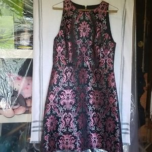 KATE SPADE NEW YORK TAPESTRY JACQUARD  DRESS SZ 12